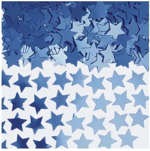Blue Mini Stars Confetti