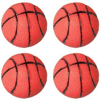 Basketball Sponge Balls, 4ct