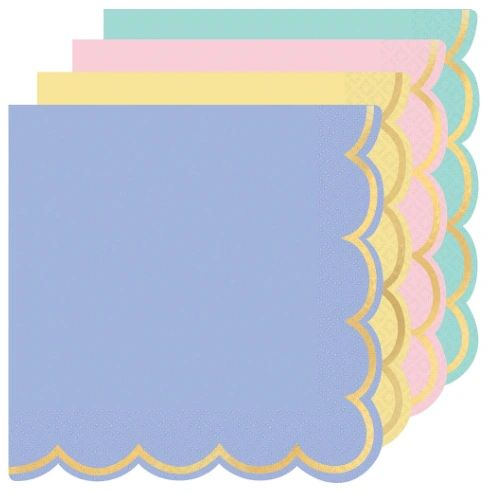 Spring Pastels Luncheon Napkins, 16ct