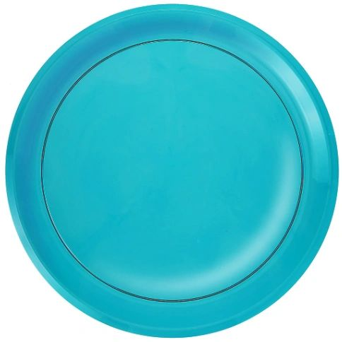 "16"" Platter - Caribbean Blue"