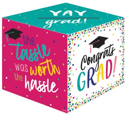 Yay Grad Card Box Holder