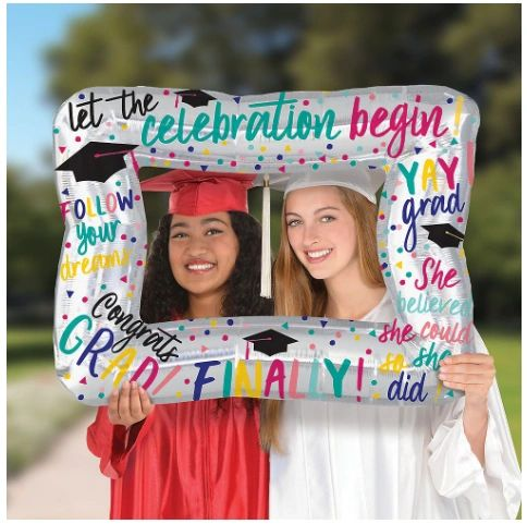 Trendy Girl Grad Inflatable Frame