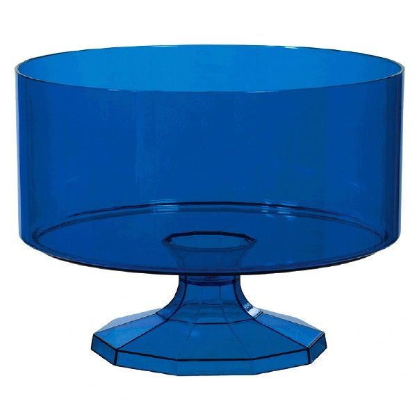 Royal Blue Trifle Container, Small, 40oz