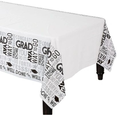 Grad Grid Plastic Table Cover