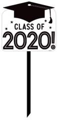 """2020"" Grad Grid Yard Sign"