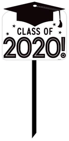 """""""2020"""" Grad Grid Yard Sign"""