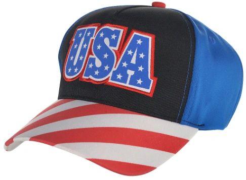 Patriotic USA Baseball Hat