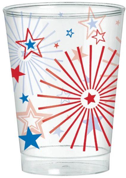 Patriotic Plastic Tumblers, 10oz - 40ct