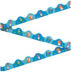 Cat In The Hat Bulletin Board Border, 12ct
