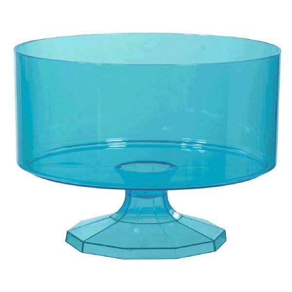 Caribbean Blue Trifle Container, Medium, 80oz