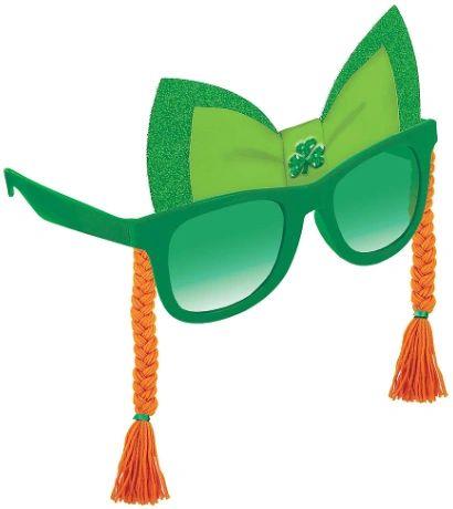 St. Patrick's Day Braids Fun Shades