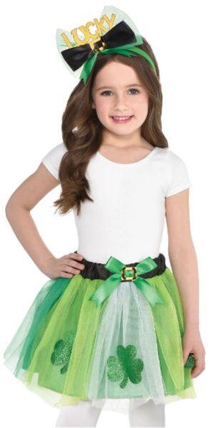 St. Patrick's Day Tutu Set - Child S/M (4-6)