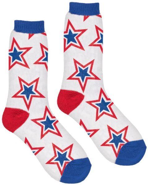 Patriotic Crew Socks