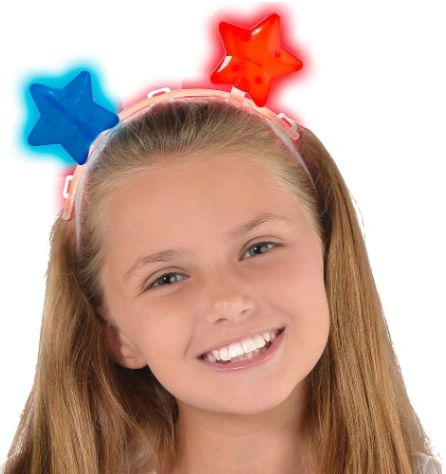 Stars Light-Up Headband