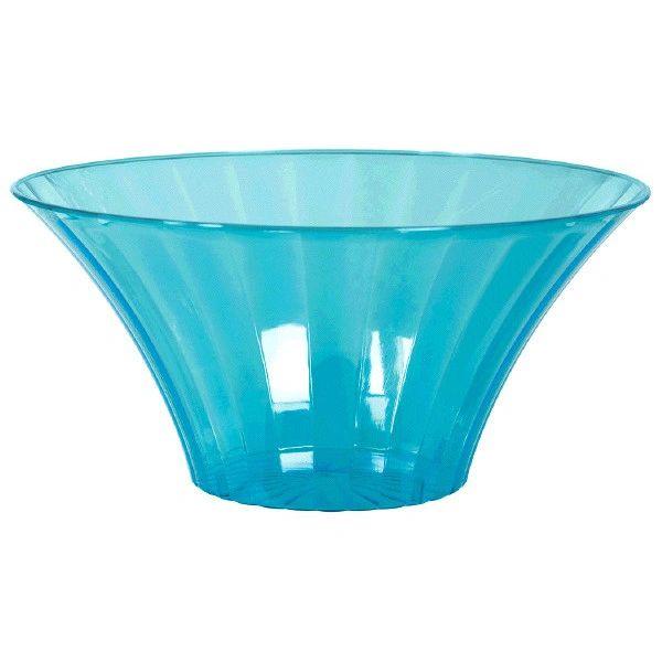 Caribbean Blue Flared Bowl, Large, 70oz