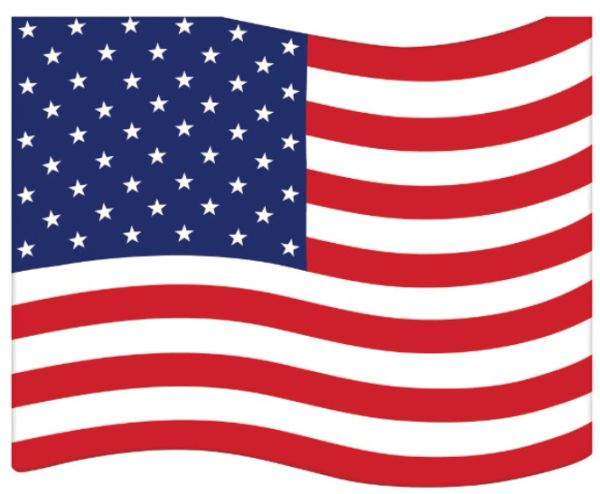 Die-Cut American Flag Beverage Napkins, 16ct