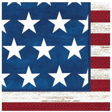 Americana Luncheon Napkins, 16ct