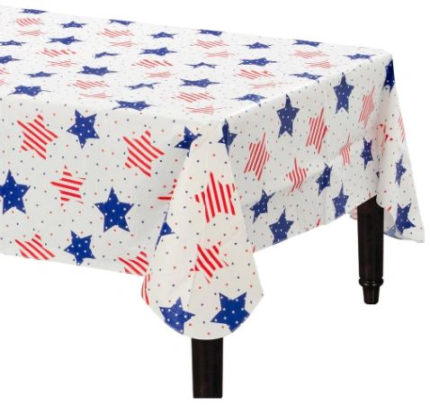 Flannel Back Table Cover