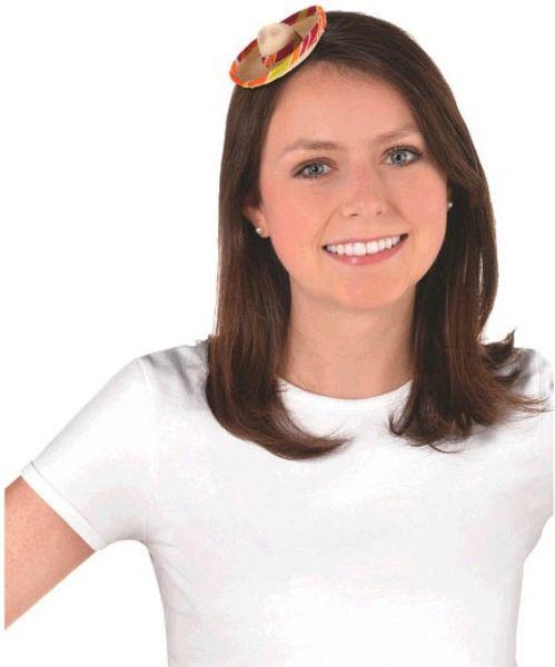 Mini Sombrero Hair Clip
