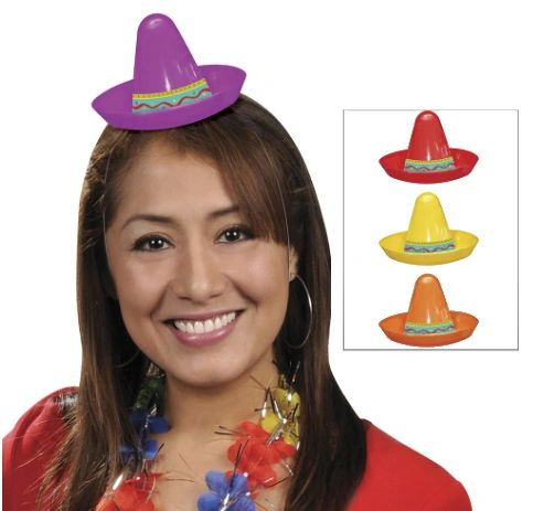 Mini Sombrero Assortment, 8ct