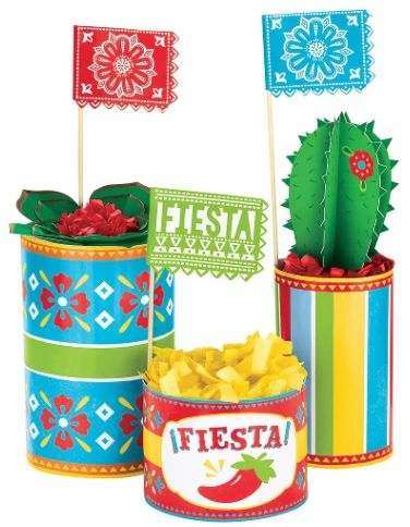 Fiesta Centerpiece Decorating Kit, 3pc