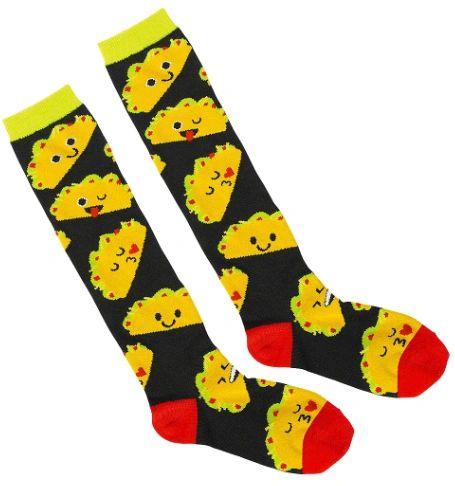 Taco Knee High Socks