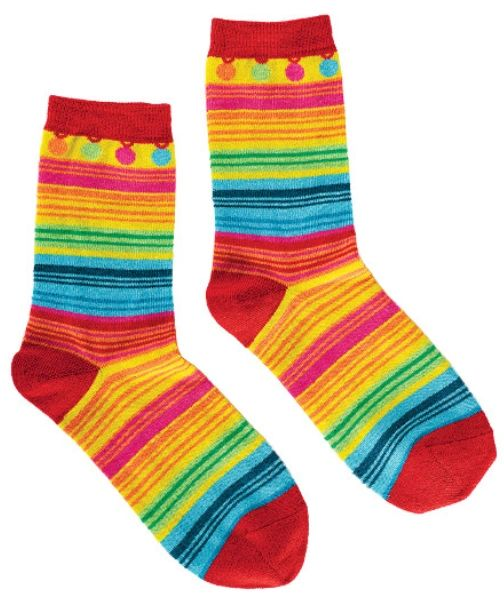 Cinco Serape Crew Socks