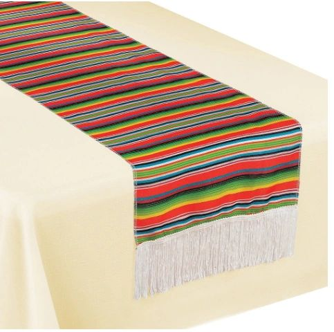 Serape Stripe Table Runner, 72""
