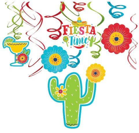 Fiesta Value Pack Foil Swirls, 12ct