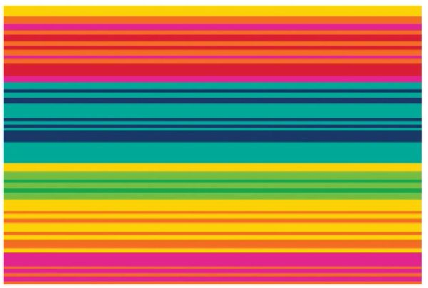 Serape Stripe Placemat