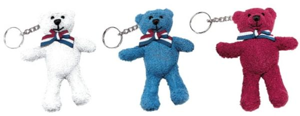 United We Stand Bear Key Chain