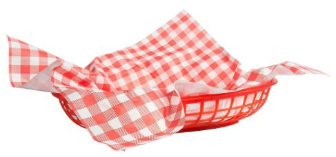 Picnic Party Basket Liners, 18ct