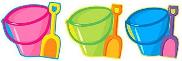 Pail & Shovel Cutout