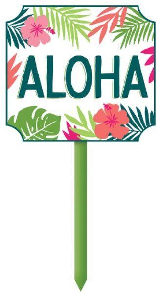 Aloha Yard Stake