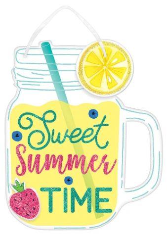 "Sweet Summertime Sign, 12"""