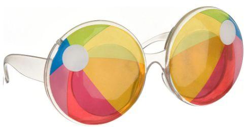 Beach Ball Glasses