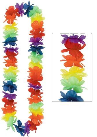 """Hawaiian Rainbow Lei, 40"""""""
