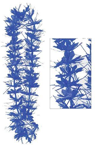 "Blue Tinsel Lei, 40"""