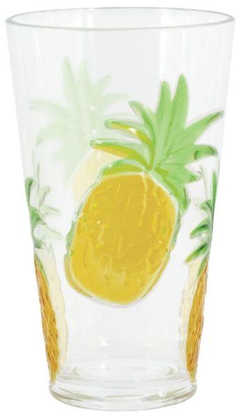 Pineapple Highball Glass, 24oz