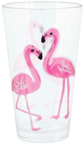 Flamingo Highball Glass, 24oz