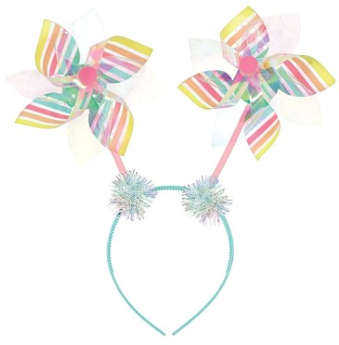 Summer Pinwheel Head Bopper