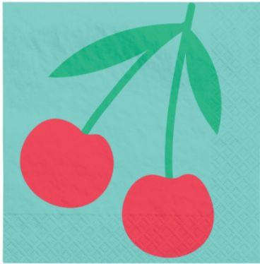 Tutti Frutti Beverage Napkins, 16ct