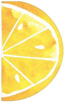 Luncheon Napkins - Lemon Slice, 16ct