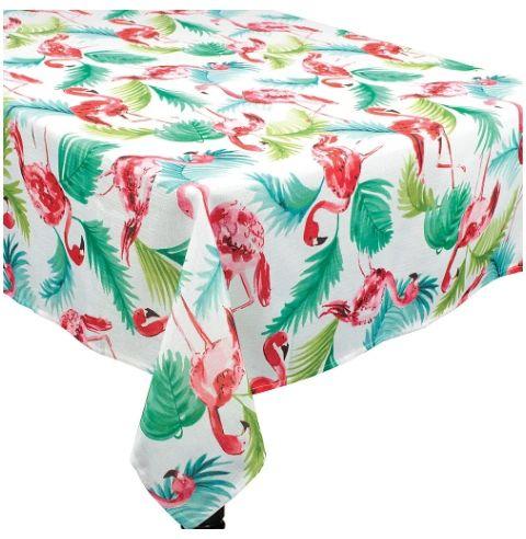 Flamingo Fabric Table Cover