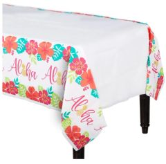 Aloha Paper Table Cover