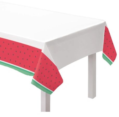 Tutti Frutti Plastic Table Cover