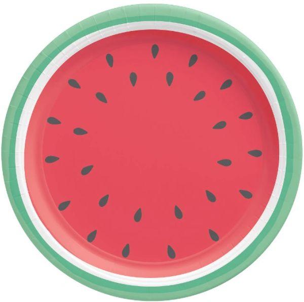 "Tutti Frutti Round Dinner Plates, 10 1/2"" - 8 ct"