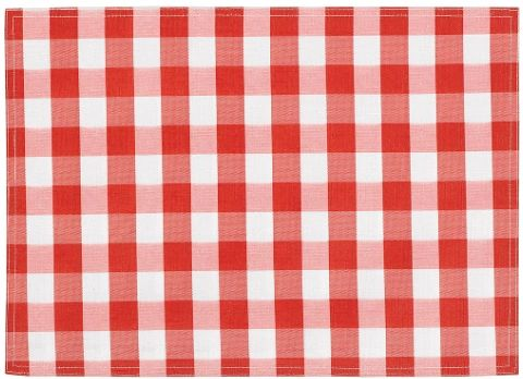 Red Check Placemat