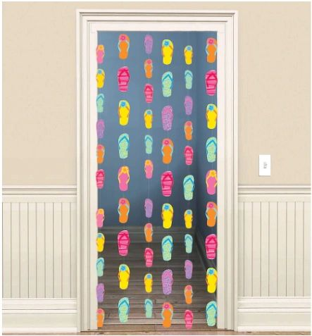 Flip Flop String Decoration, 6ct