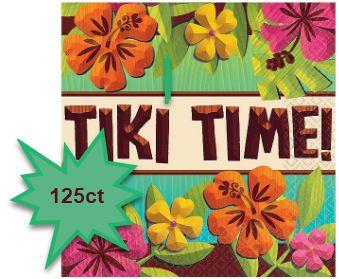 Tiki Beverage Napkins, 125ct
